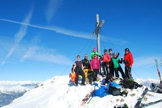 Genuss-Wochenende mit leichten Skitouren