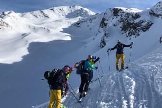 Freeride-Wochenende in Davos