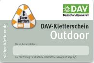 DAV Kletterschein Outdoor