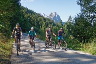 Mountainbike Wochenende Partenkirchen