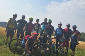 Vorbereitungswochenende Alpencross 2018
