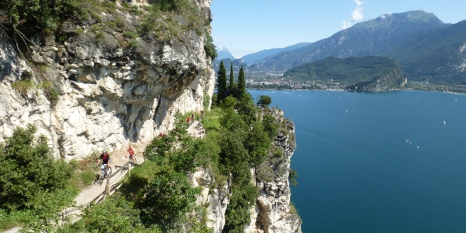 Via Ponale am Gardasee