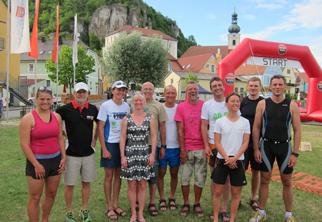 Vereinsmeisterschaften Triathlon Kallmünz am 13. Juni 2015